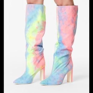 "Jeffrey Campbell ""Anaise"" tall boots"